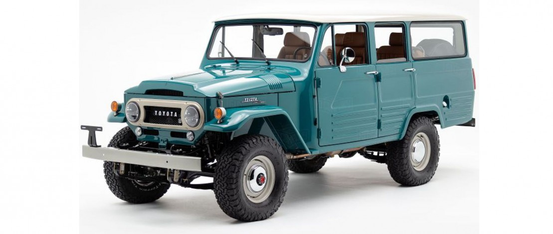 Odrestaurowany Land Cruiser FJ45LV