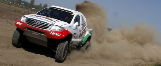 Toyota Hilux T1 NAC Rally Team
