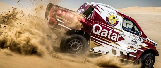 Nasser Al-Attiyah zwycięża w Sealine Cross Country Rally