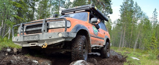 """Expedition Support"" z  Rayo Off-Road Centrum"