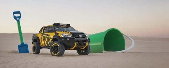 Toyota Hilux Tonka – nowy monster truck z Australii